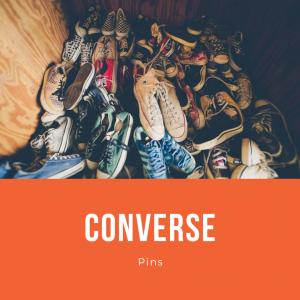 My Converse Pins
